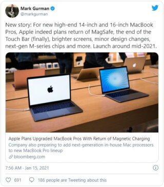 Touch Bar MacBookPro