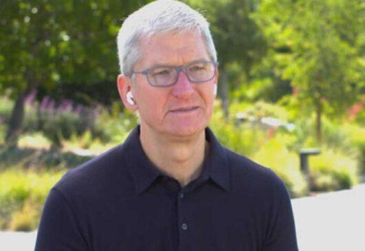 Tim Cook annuncio Apple