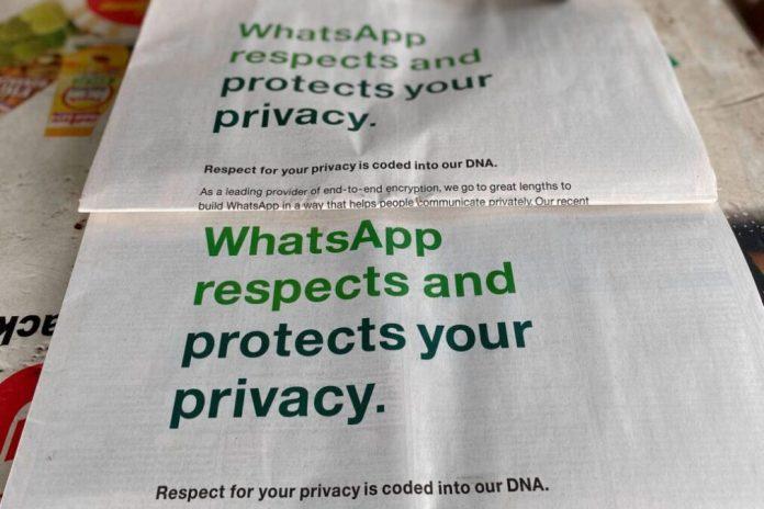 whatsapp aggiornamento privacy