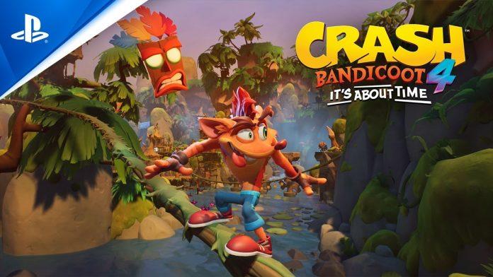 Crash Bandicoot trailer data upgrade PS5