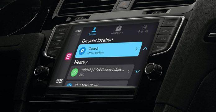 EasyPark CarPlay