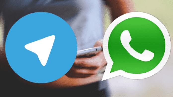 whatsapp telegram inviare file a sé stessi