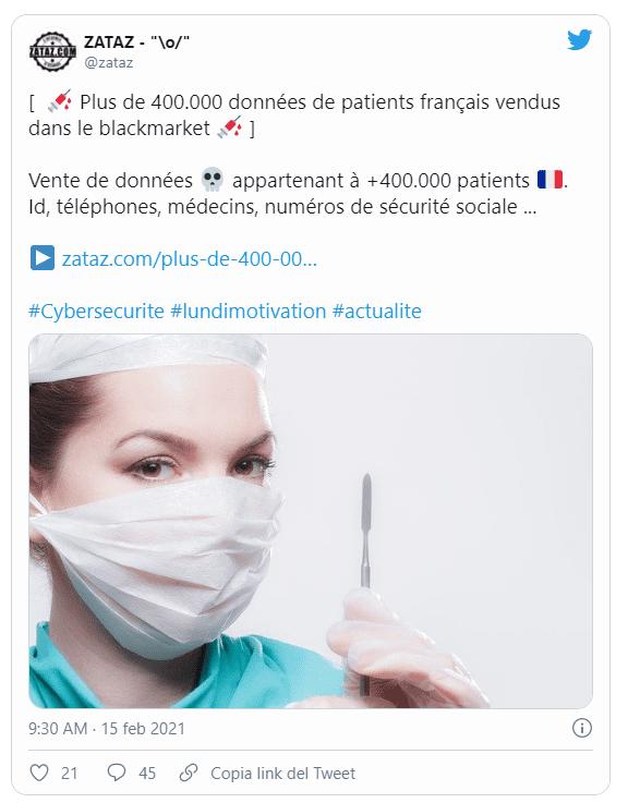 attacco Hacker Francia