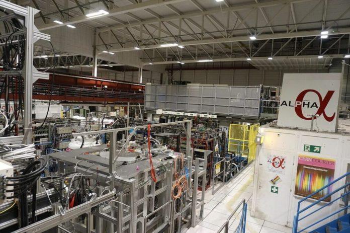fabbrica antimateria CERN