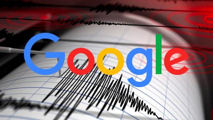 Google registrare terremoti