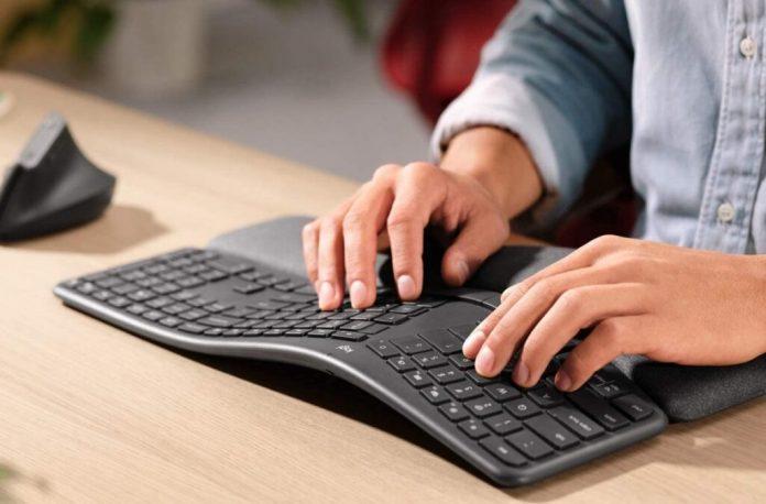 Logitech mouse M575 tastiera K860