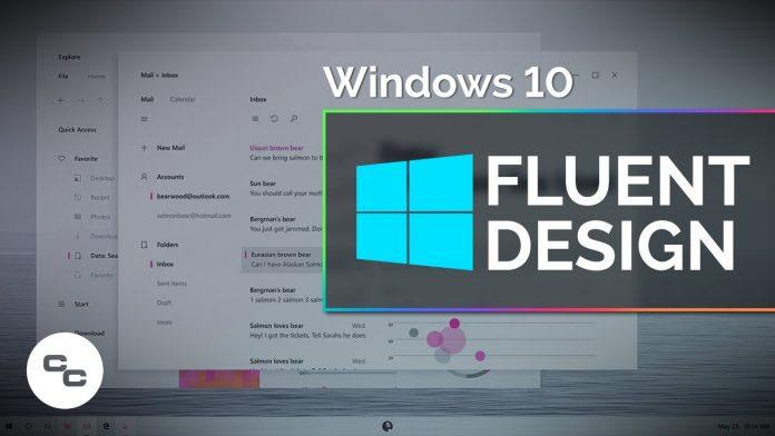 windows fluent