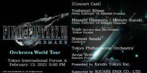 Final Fantasy VII Remake Orchestra – World Tour TrailerVideogiochi per PC e console | Multiplayer it