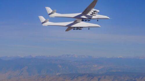 Stratolaunch l'aereo