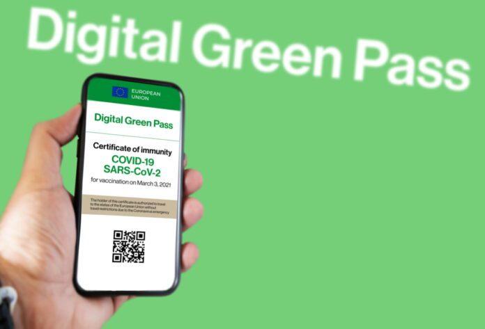 green pass app Io
