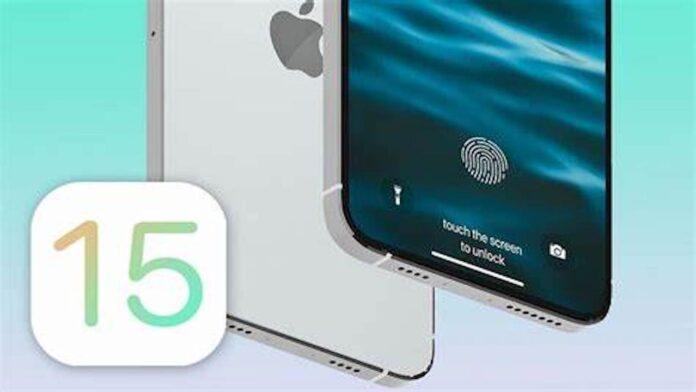 iOS 15 device