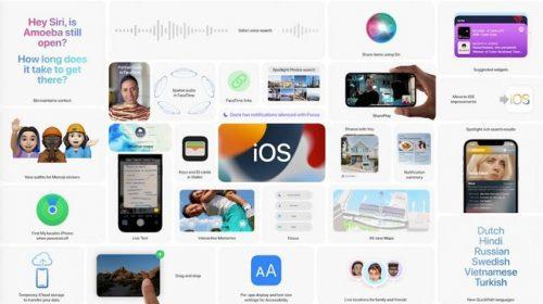 Apple rilascia le beta 2 developer di iOS/iPadOS/tvOS 15 e watchOS 8HDblog.it