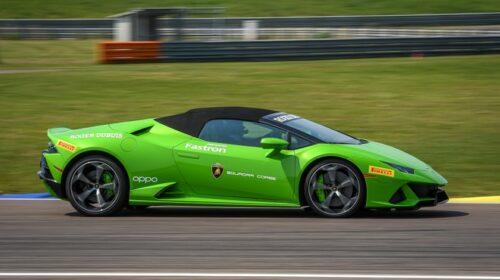"Lamborghini   La Huracán Evo nuova ""follow me car"" dell"