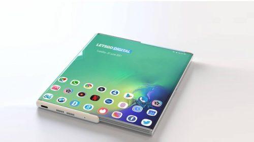 Samsung, nel brevetto lo smartphone si arrotola e la selfie cam è sotto allo schermoHDblog.it