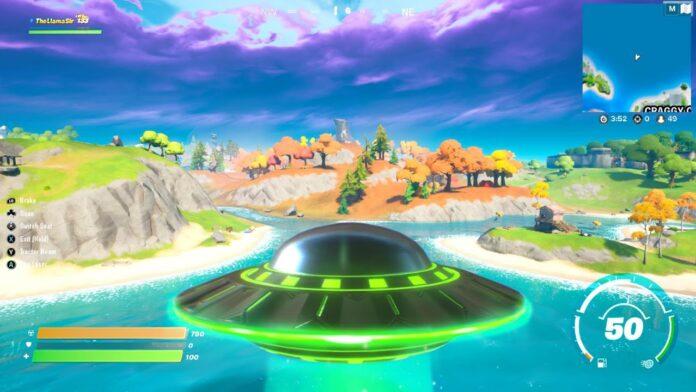 UFO Fornite