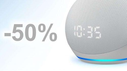 L'altro Echo Dot, quello con qualcosa in più ( 50%) | Punto Informatico