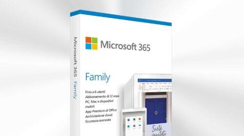 Prime Day: Microsoft 365 Family a METÀ PREZZO | Punto Informatico