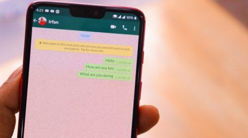 WhatsApp: foto e video visualizzabili una volta sola e crittografia end to end in localeHDblog.it