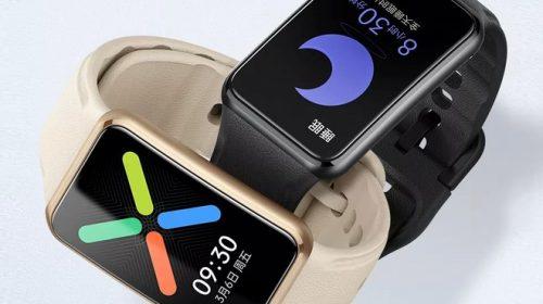Oppo Watch Free svelato dalle prime immagini: un po' smartband un po' orologioHDblog.it