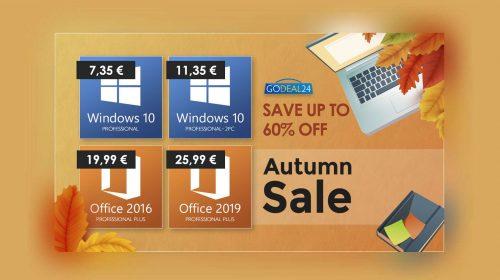 Windows 10 a soli 7,35€ con i saldi autunnali GoDeal24.com | Punto Informatico
