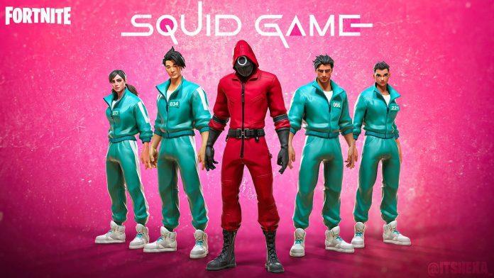 codice Squid Game Fortnite